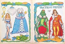 The Frog Prince Paper Doll by Pat Frey, 1981 National Doll World Mag.