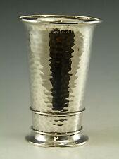 ARGENTO Sterling-Arts and Crafts VASO / bicchiere-sandheim Brothers 1916