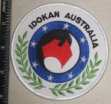 Idokan Australia Patch - Martial Arts