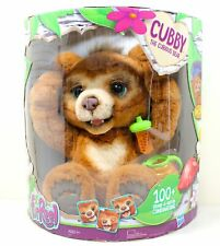 FurReal Friends Cubby The Curious Bear, Interactive Plush w/ 100+ Features