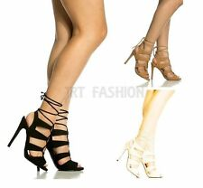 Women's Stiletto High Heel (3-4.5 in.) Lace-up Casual Shoes