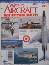 World Aircraft Information Files Issue 105 Lockheed Hudson cutaway & poster