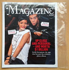 THE TIMES Magazine 5 October2013,Rihanna,Harry Styles One Direction NEW