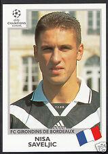 PANINI CALCIO ADESIVO-UEFA CHAMPIONS LEAGUE 1999-00 - N. 261-Bordeaux