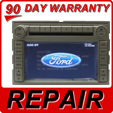 FORD LINCOLN MERCURY Navigation GPS Radio 6 CD Changer REPAIR ONLY Fix Service