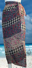 BEAUTIFUL PAREO | Sarong, Hawaiian Pareo, Beach Cover-up, Scarf Wrap | S2012v2]