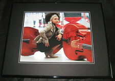 Esperanza Spalding Signed Framed 11x14 Photo Grammy Award