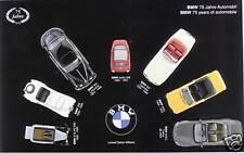 """BMW Diorama  7 teilig 1:43 328 502 507 Isetta """"75 Jahre Automobil""""  80420393305"""