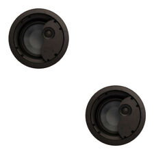 """2 x PhaseTech CI6.0X 6.5"""" 2-way Ceiling Speaker 8Ohm 120W Home Audio In Wall"""