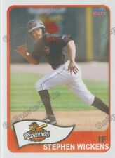 2016 Rochester Red Wings Stephen Wickens RC Rookie Twins Canada