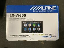BRAND NEW Alpine iLX-W650 7 inch Mechless In-Dash Receiver APPLE CARPLAY ANDROID