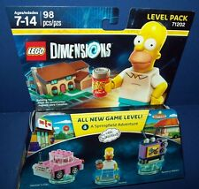 Lego 71202 DIMENSIONS Level Pack Team SIMPSONS sealed Homer Car Taunt-O-Vision