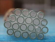 BOROSILICATE GLASS TUBING 20 Pieces PYREX TUBES 8mmx1.6x150mm long IWAKI JAPAN
