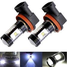 2pcs H8 H11 H16 6000K Super White 100W High Power Fog Light LED Driving Bulb DRL