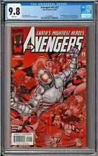Avengers #v3 #22 #437 CGC 9.8 White Black Panther Alkhema Ultron Grim Reaper