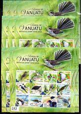 # 10X VANUATU 2012 - MNH - BIRDS