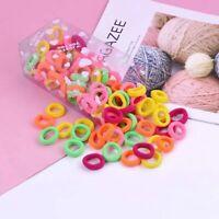 Hair Band 100Pcs/SET Ponytail Holder Rope Ring Ties Girl Hairband Women Elastic