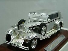 MAYBACH ZEPPELIN CAR 1/43RD SCALE MODEL + WOODEN BASE ISSUE BXD K89750 -+-