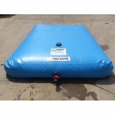 """New listing New! Drink Water Bladder Tank 168""""L x 120""""W x 18""""H 1500 Gal Cap Powder Blue!"""