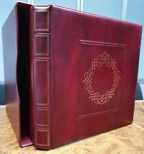 Cartella ABAFIL Rossa Bordeaux con Custodia USATA