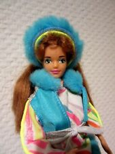 Inverno BARBIE MIDGE, pattini, Mattel 1985, VINTAGE