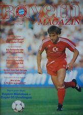 Programm 1987/88 FC Bayern München - Bayer Uerdingen