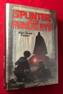 RARE 1978 Alan Dean Foster SIGNED Stated 1st SPLINTER OF THE MINDS EYE Star Wars