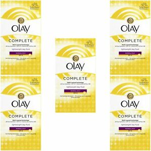5 Olay 3-In-1 Lightweight Day Fluid Normal-Oily Skin SPF15 Complete Care 100ml