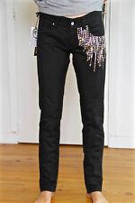 jeans skinny schwarz und Strass MET und friends h bidys t W28 38 fr i42 neu