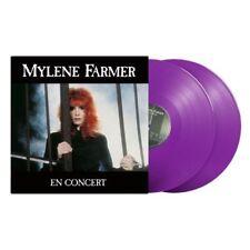 Mylène Farmer 2xLP En Concert - Vinyles violets 1000 exemplaires - France (M/M)