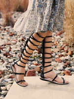 New Free People + Jeffrey Campbell Star Valley Gladiator sandal size 7 MSRP $198