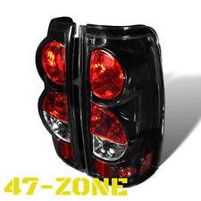 Clear lens Black Altezza Tail Light fit 99-06 Chevy Silverado 99-03 Gmc Sierra