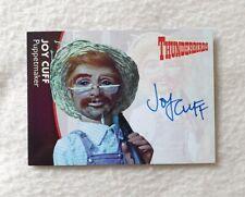 Unstoppable Cards Thunderbirds Series 2 Autograph Card Joy Cuff JC1
