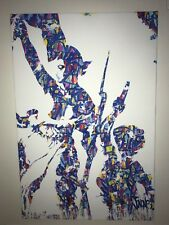 Jonone Liberté Egalité Fraternité rare limited edition canvas print 97x65cm neuf