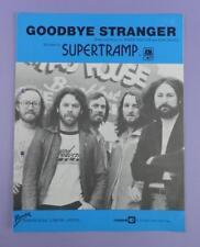 Ande-Adiós desconocido, Original 1970s Partituras