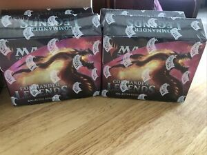 Magic The Gathering Commander Legends Sealed Collector's Booster Box 😃