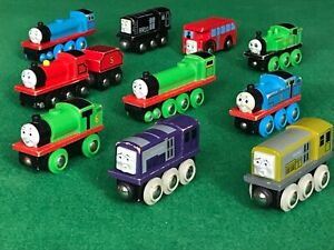 Bundle lot BRI0 THOMAS TRAINS for Thomas and Friends Wooden Railway ENGINE SET