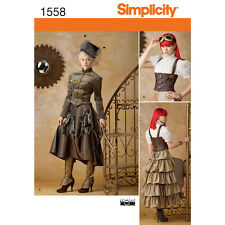 Schnittmuster Simplicity 7065 traumhaftes Damenkostüm Gr 32-48