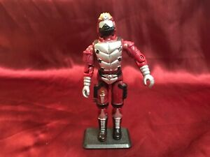 Hasbro GI Joe 3.75 figure, Crimson Guard Immortal 1991 Cobra Elite Trooper