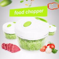 Vegetable Onion Garlic Food Quick Chopper Cutter Slicer Peeler Dicer Convenient
