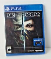 Dishonored 2 PS4 -Brand New  Factory Sealed! PS4 Video Game