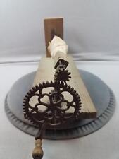 Clamp On Cast Iron Ornate String Yarn Winder R.P. Scott Newark NJ Apple Peeler