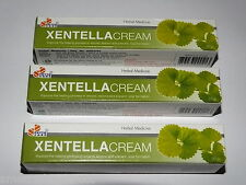 Centella Herbal Cream Heals Wounds Burns Reduces Scaring Psoriasis 3 x 20g Tubes