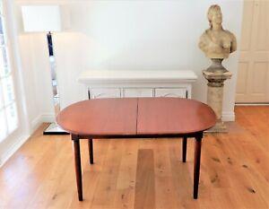 1960's CRO Teak dining table, butterfly extension Tessa Parker Retro Era