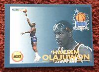 HAKEEM OLAJUWON 1992-93 Fleer Orlando All-Star Weekend Rockets #20 Of 24 🌟🏀🌟