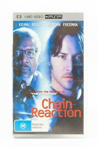 Chain Reaction Keanu Reeves PSP Playstation Portable UMD Video Movie