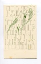 Ex libris by Chapman for James Hardie Library
