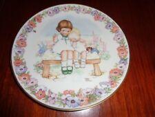Gresham Collectors Plate HUSH - MEMORIES OF YESTERDAY