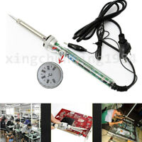 220V Heat Gun Welding Adjustable Electric Temperature Soldering Iron Tool 60W