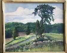 Alice Judson [1876-1948] original signed, oil/canvas, framed landscape Painting
